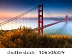 The Golden Gate Bridge Of San...