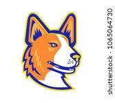 mascot icon illustration of... | Shutterstock .eps vector #1065064730