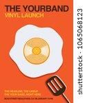 Vinyl Launch Gig Poster Flyer...