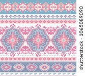 indian rug paisley ornament...   Shutterstock .eps vector #1065089090