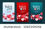 fathers day sale background... | Shutterstock .eps vector #1065104246