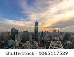 beautiful sunset  of the... | Shutterstock . vector #1065117539