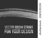vector brush stroke for your... | Shutterstock .eps vector #1065120134