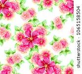 abstract elegance seamless... | Shutterstock .eps vector #1065158504