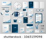 corporate branding identity... | Shutterstock .eps vector #1065159098