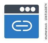 url browser external  | Shutterstock .eps vector #1065163874