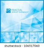 fractal abstract background. a... | Shutterstock .eps vector #106517060
