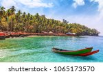 scenic ross island beach at... | Shutterstock . vector #1065173570