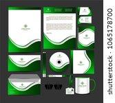 business corporate kit   flyer   | Shutterstock .eps vector #1065178700