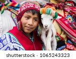 cusco  peru   december 31  2017 ... | Shutterstock . vector #1065243323
