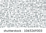 search engine optimization and...   Shutterstock .eps vector #1065269303