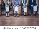 photo of candidates waiting for ...   Shutterstock . vector #1065276764