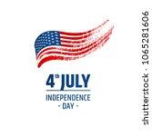 design of logo   independence... | Shutterstock .eps vector #1065281606