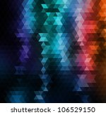 vector mosaic background | Shutterstock .eps vector #106529150