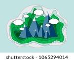vector illustration of a... | Shutterstock .eps vector #1065294014