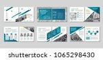 brochure creative design....   Shutterstock .eps vector #1065298430