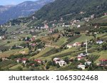 mountain village in turkey.... | Shutterstock . vector #1065302468