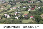 mountain village in turkey.... | Shutterstock . vector #1065302474