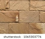 sandstone wall texture...