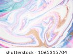 punchy pastel trendy colors.... | Shutterstock . vector #1065315704
