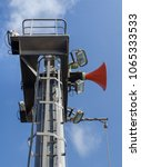 Small photo of Forward mast of the seagoing vessel