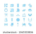 sewing equipment  tailor... | Shutterstock .eps vector #1065333836