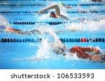 freestyle race | Shutterstock . vector #106533593