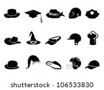 Collection Of Various Black Hat