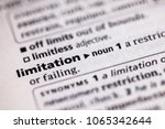close up to the dictionary... | Shutterstock . vector #1065342644
