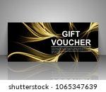 gift voucher template.   Shutterstock .eps vector #1065347639
