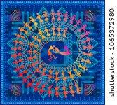 warli painting   hand drawn... | Shutterstock .eps vector #1065372980