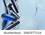 professional hairdresser's... | Shutterstock . vector #1065377114