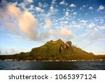 view of mount otemnaufrom the... | Shutterstock . vector #1065397124