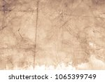 blank aged paper sheet as old... | Shutterstock . vector #1065399749