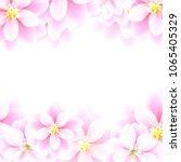 invitation backgrounds flowers | Shutterstock .eps vector #1065405329