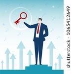 businessman character design.... | Shutterstock .eps vector #1065412649
