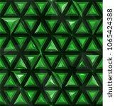 seamless abstract emerald 3d... | Shutterstock .eps vector #1065424388