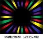 vector sunburst | Shutterstock .eps vector #106542500