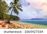 scenic north bay island sea... | Shutterstock . vector #1065427334