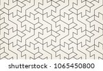 abstract geometric pattern with ... | Shutterstock .eps vector #1065450800
