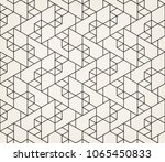abstract geometric pattern with ... | Shutterstock .eps vector #1065450833