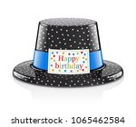 party hat for birthday. childs... | Shutterstock .eps vector #1065462584