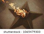 eternal flame on the street   Shutterstock . vector #1065479303