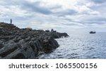 ganh da dia   a famous... | Shutterstock . vector #1065500156