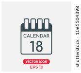 calendar vector icon.flat...