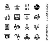 icons management with... | Shutterstock .eps vector #1065513689