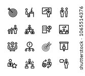 icons management with working ...   Shutterstock .eps vector #1065514376