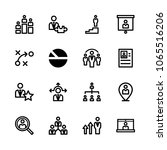 icons management with...   Shutterstock .eps vector #1065516206