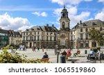 rennes  france  2 april 2018 ... | Shutterstock . vector #1065519860