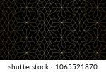 abstract geometric pattern with ... | Shutterstock .eps vector #1065521870